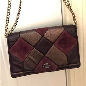 Coach Bags - Coach leather patchwork Crossbody